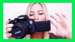 Canon T6i Video Creator Kit Unboxing | How To Start Filming for YouTube! | iJustine