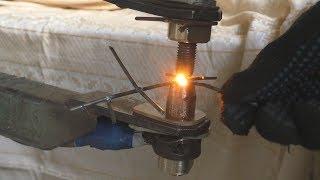 Большая контактная сварка. (Large contact welding)