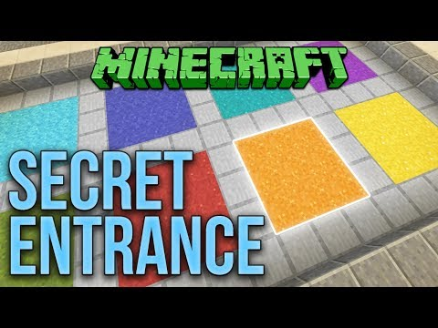 Minecraft Walkthrough 1 12 Simple Slime Block Elevator Up And