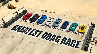 GTA V - Greatest Drag Race [2018]