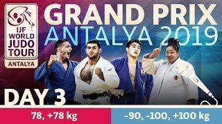 Judo Grand-Prix Antalya 2019: Day 3