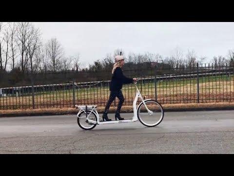 The Electric Walking Bike A Treadmill On Wheels