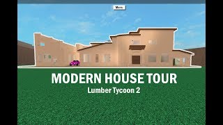 roblox lumber tycoon 2 how to build a modern house