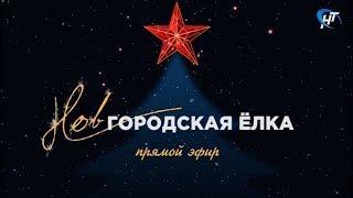 Новгородская ёлка. Прямой эфир с Софийской площади