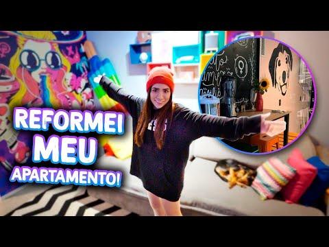 TOUR PELO MEU APARTAMENTO REFORMADO!