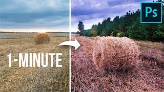 1-Minute Photoshop - Add AMAZING Color Tints!