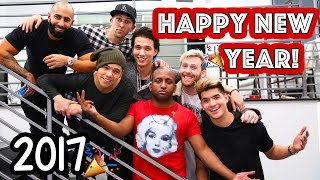 SECRET NEW YEARS YOUTUBER MANSION PARTY!