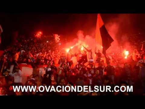 """""""FBC Melgar - Barra Leon del Sur - Noche Rojinegra 2015 - 04/02/2015"""" Barra: León del Svr • Club: Melgar"""