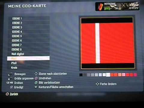 3 D Call of Duty Black Ops Emblem Logo Tutorial Flagge Fahne Norwegen!