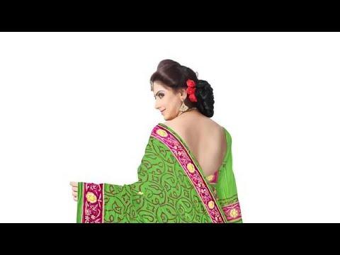 Diamond Work Design Gaji Silk Bandhani Saree