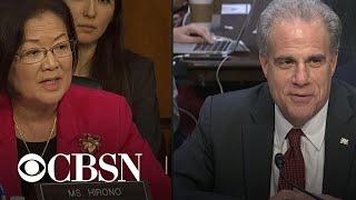 IG report hearing part 8: Senators continue to question Michael Horowitz