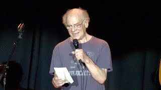 """Video thumbnail of """"Art Garfunkel talks about Paul Simon, reads the poem """"The Funeral,"""" May 12, 2019"""""""