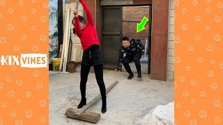Funny videos 2019 ✦ Funny pranks try not to laugh challenge P74