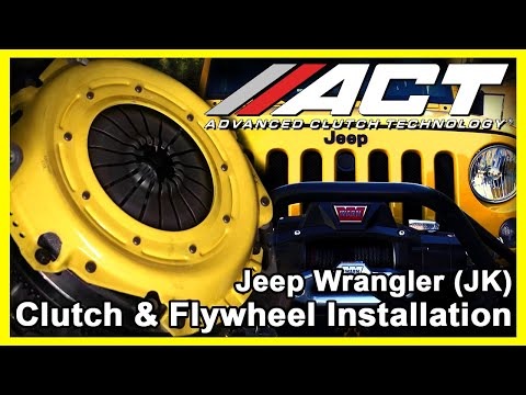 ACT Clutch Install: 2012 - 2018 Jeep Wrangler (JK)