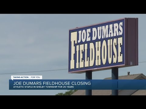 Joe Dumas Fieldhouse closing in Shelby Township
