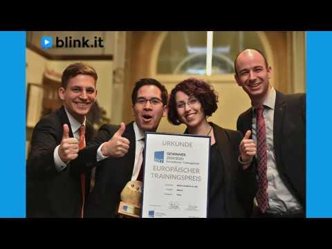 blink.it: Das beste Trainingstool Europas 2019 - Preisverleihung