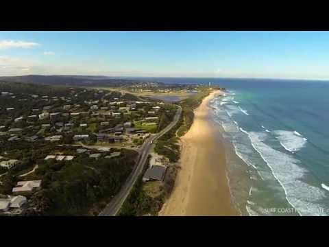Drone video of Fairhaven and surrounding sands