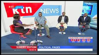 Sunday Edition: Political pages...is Jubilee making inroads into ODM stronghold of Kisii?