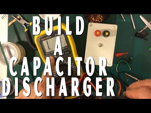 Create a capacitor discharger with this case