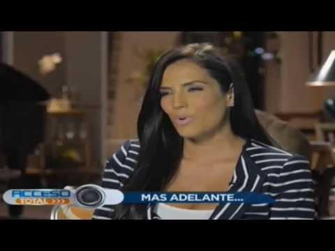 Gaby Espino y Aaron Diaz presentadores de Premios Tu Mundo 2013 (Acceso Total Miami)