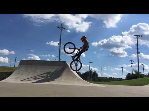 Riding Noble Park Skatepark in Paducah, Kentucky