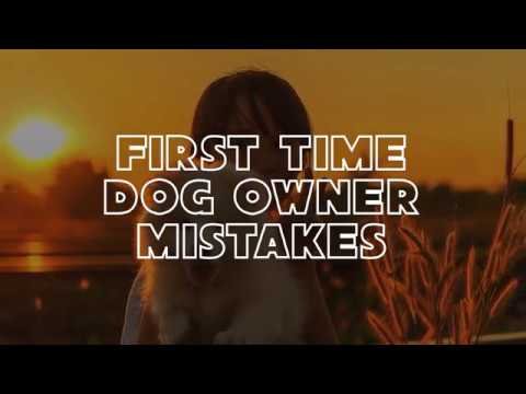 First Time Dog Owner Mistakes