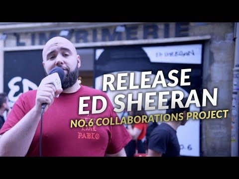 """ED SHEERAN : Release Party """"No.6 Collaborations Project"""" - OKLM Inside"""