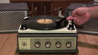 Voice Of Music Record Player Model 357