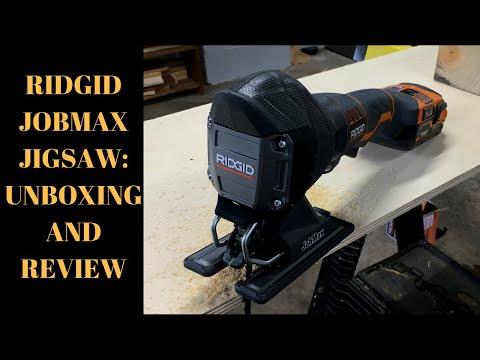 RIDGID JOBMAX JIGSAW: UNBOXING & REVIEW