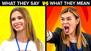 12 Things Teachers Say vs What They Really Mean