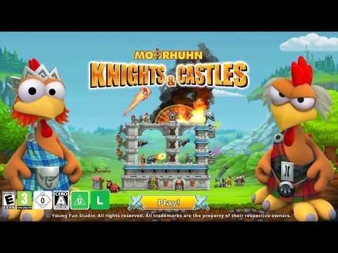 Moorhuhn Knights & Castles for Nintendo Switch Trailer en thumbnail