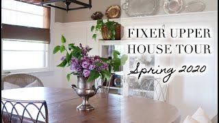 BEFORE + AFTER HOUSE TOUR | Cottage Style Spring 2020