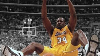Shaquille O'Neal Top 10 Dunks of Career