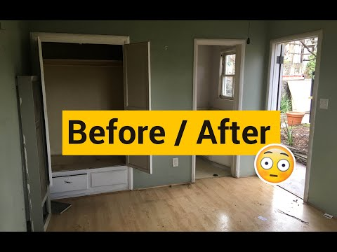 How to Convert a Garage to Living Space   Garage Conversion Video Tour