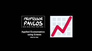 Descriptive Statistics and Graphs in Eviews #Econometrics #Eviews