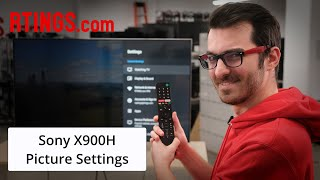 Video: Sony X900H (2020 Model) - TV Picture Settings