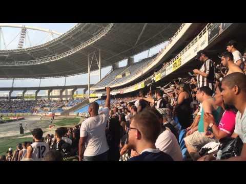 """""""Fogo Eu Te Amo - Botafogo X Bragantino"""" Barra: Loucos pelo Botafogo • Club: Botafogo"""