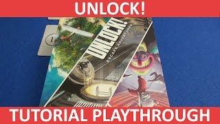 Unlock! - Tutorial Playthrough