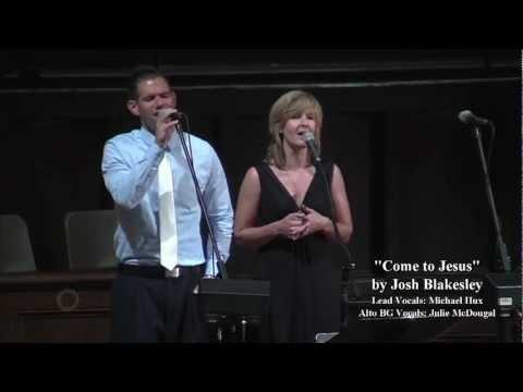 "Michael Hux singing ""Come to Jesus"" @ Briarwood Presbyterian Church"