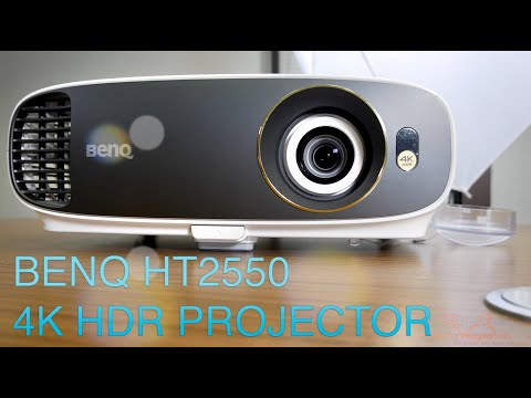 BenQ HT2550 4K DLP HDR Home Cinema Projector Review