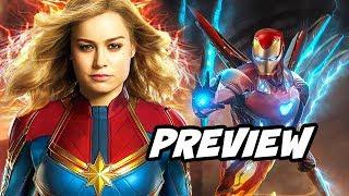 Avengers 4 Spinoffs - Captain Marvel Plot Teaser Breakdown