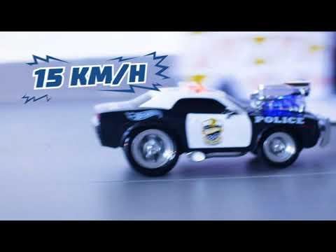 Дистанционно управляемый полицейский автомобиль Hot Wheels RC Police Pursuit 1:16 цена и информация | Игрушки для мальчиков | 220.lv