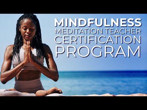 Mindfulness Meditation Teacher Certification Program Scholars ...