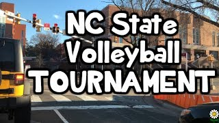 NC STATE Club Volleyball Tournament Vlog ⎮KoKo Volley
