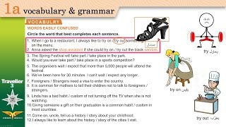 Traveller 3 1a VOCABULARY - WORDS EASILY CONFUSED + Workbook B