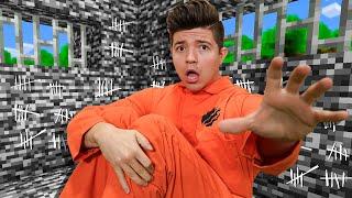 I Survived 100 Days in Minecraft PRISON!