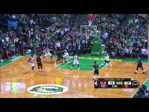 NBA, Playoff 2015, Cavaliers Vs. Celtics, Round 1, Game 3, Move 14, Kevin Love, 3 Pointer