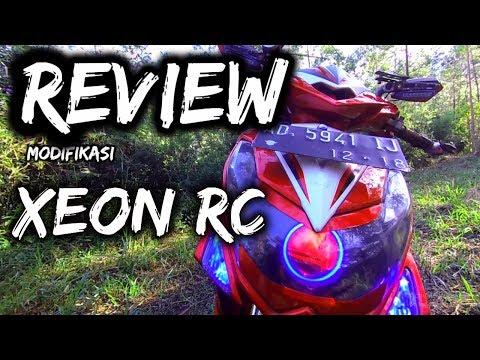Video REVIEW MODIFIKASI XEON RC 125 FI