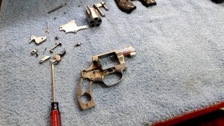 How To Disassemble & Reassemble S&W Model 60 .38 Special  - The Lighthouse Lady