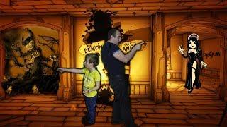 БЕНДИ ГЛАВА 3 ПУТЬ ДЕМОНА Владик и ПАПА Играют Страшно и Смешно Семья Играет  Бенди